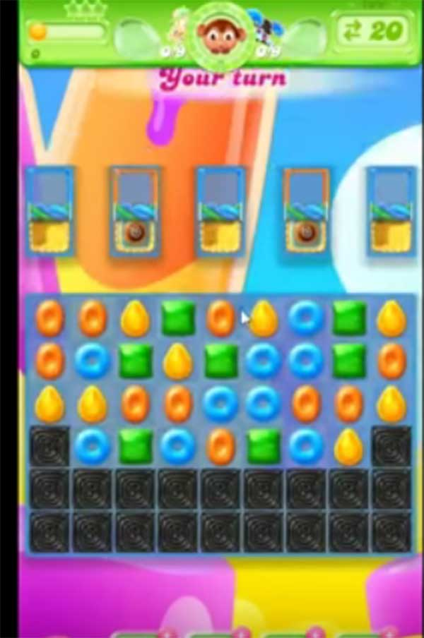 candy crush jelly level 199
