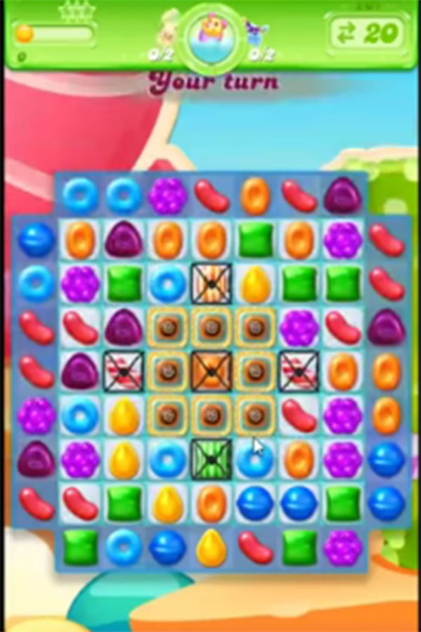 candy crush jelly level 201
