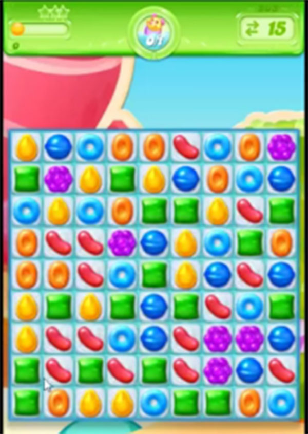 candy crush jelly level 203