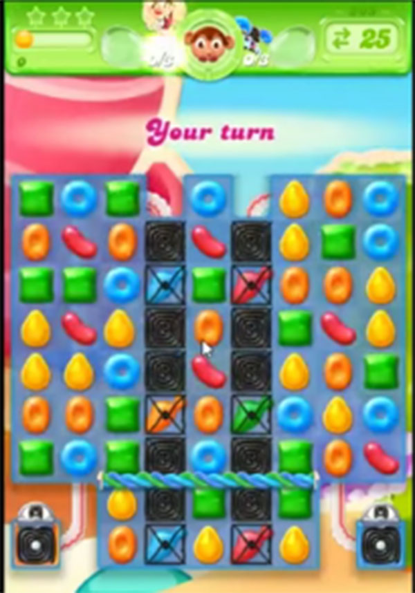 candy crush jelly level 205