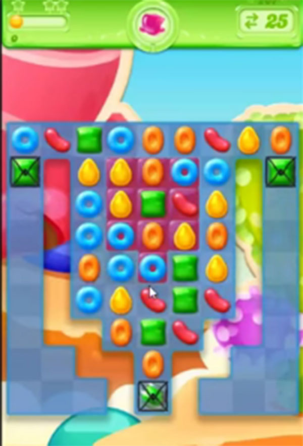 candy crush jelly level 207