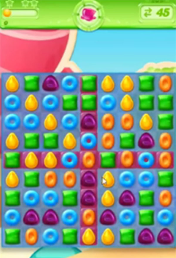 candy crush jelly level 209