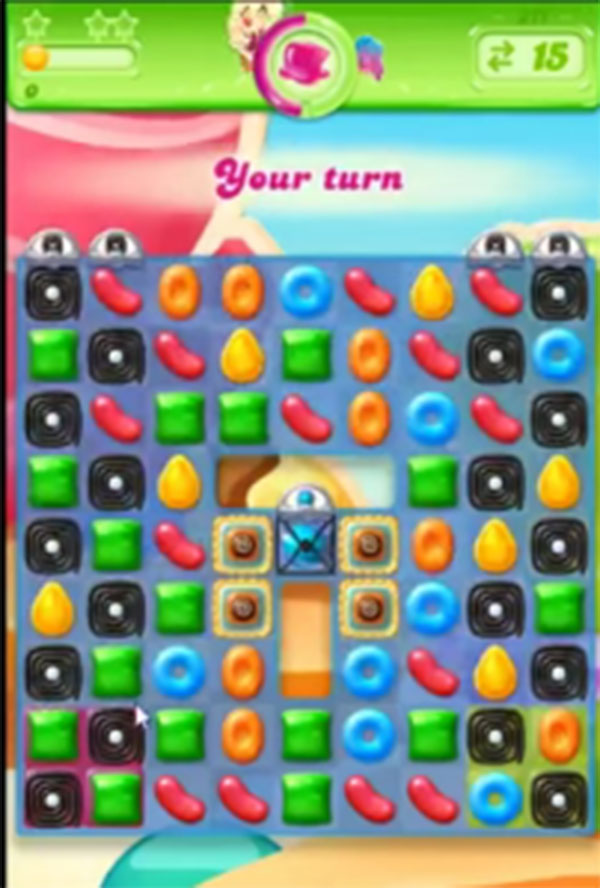 candy crush jelly level 211