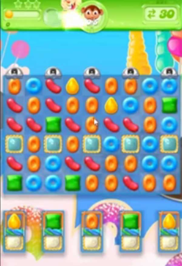 candy crush jelly level 221