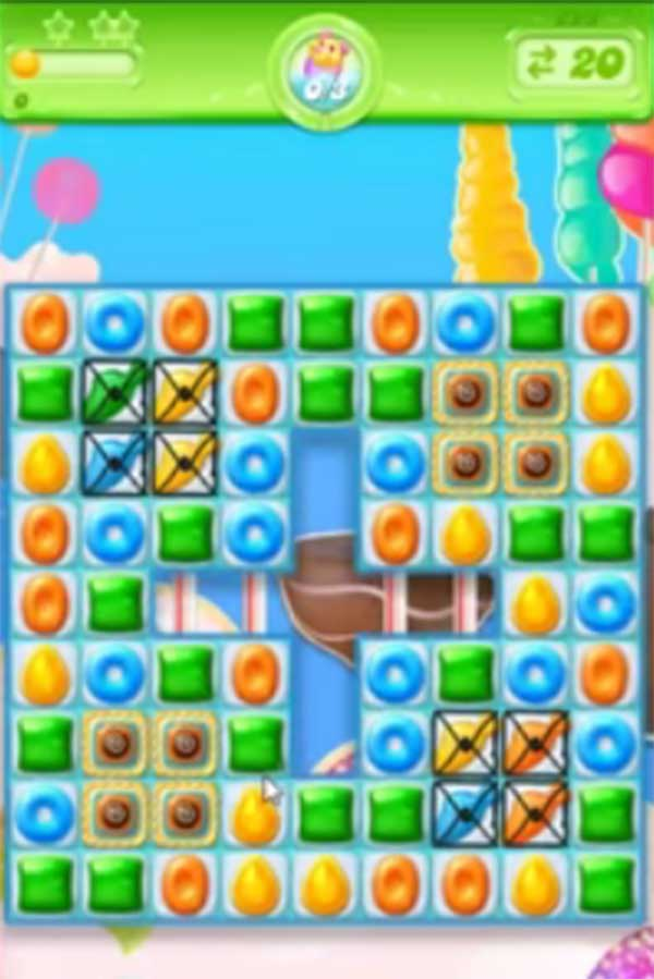 candy crush jelly level 223