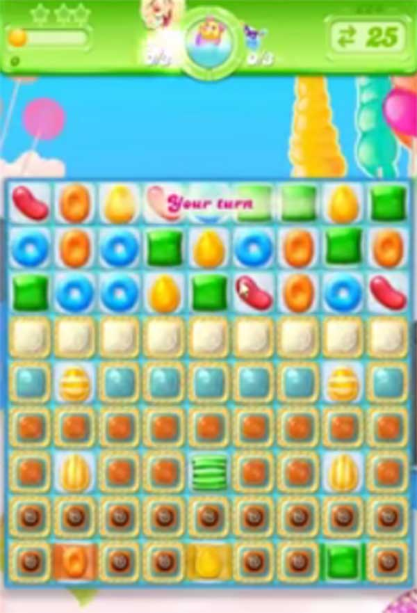 candy crush jelly level 224