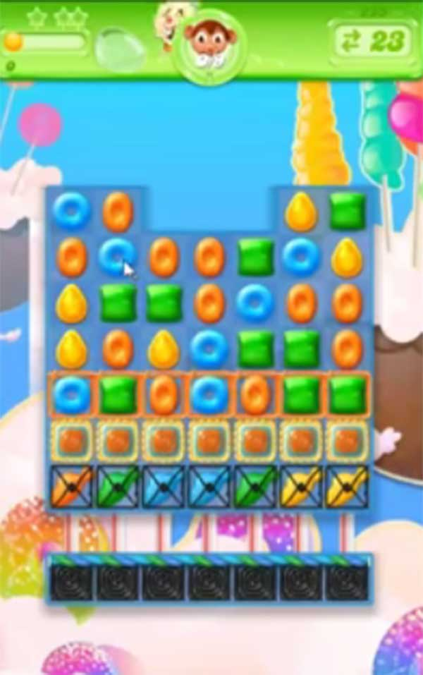candy crush jelly level 225