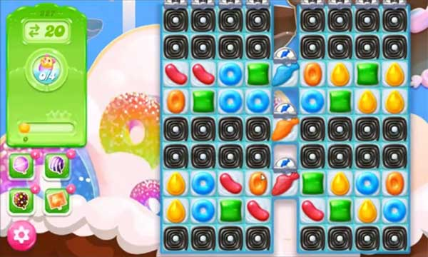 candy crush jelly level 227