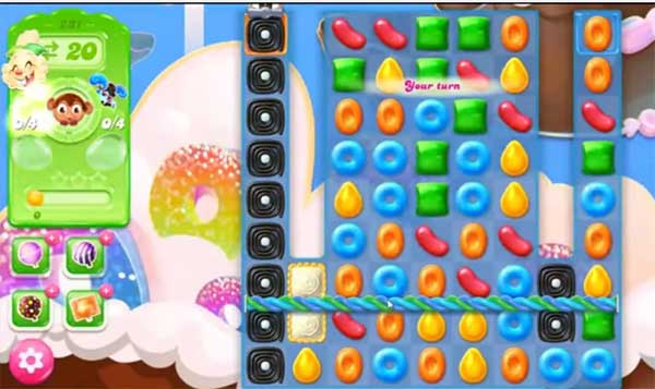 candy crush jelly level 231