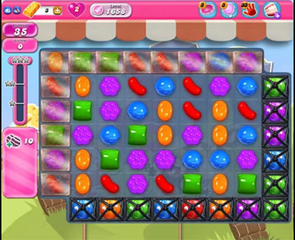 candy crush level 1658