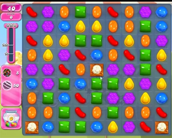 candy crush level 1663