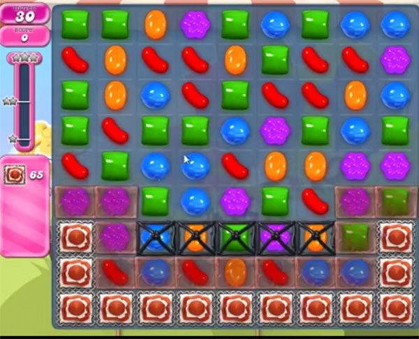 candy crush level 1667
