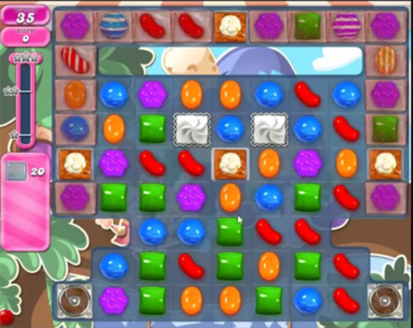 candy crush level 1677