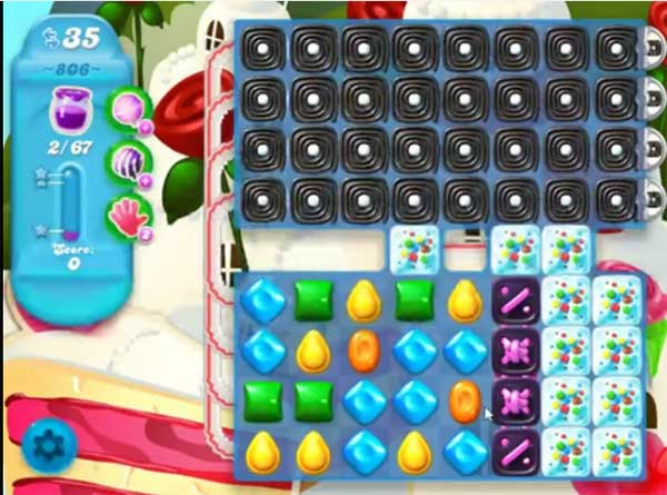 candy crush soda level 806