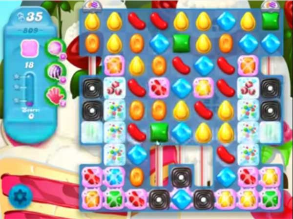 candy crush soda level 809