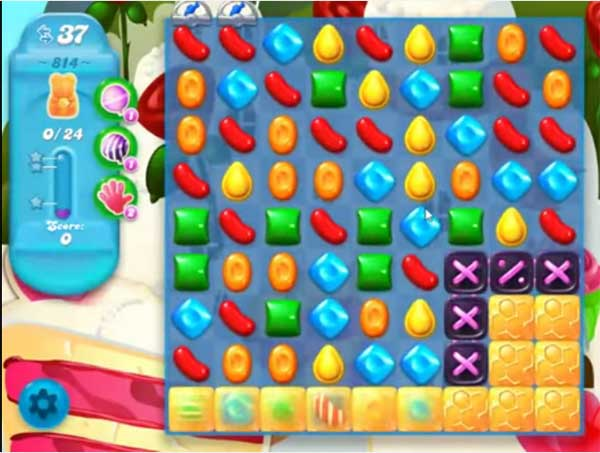 candy crush soda level 814