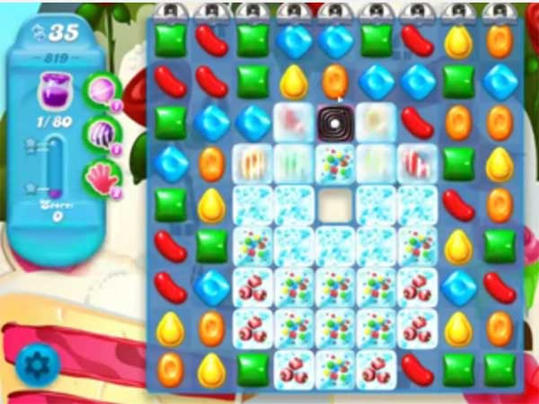 candy crush soda level 819