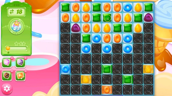 candy crush jelly level 245