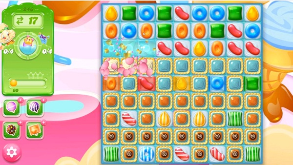 candy crush jelly level 246