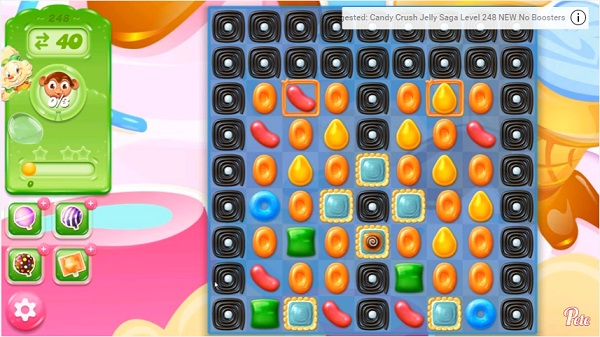 candy crush jelly level 248
