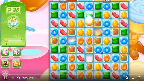 candy crush jelly level 249