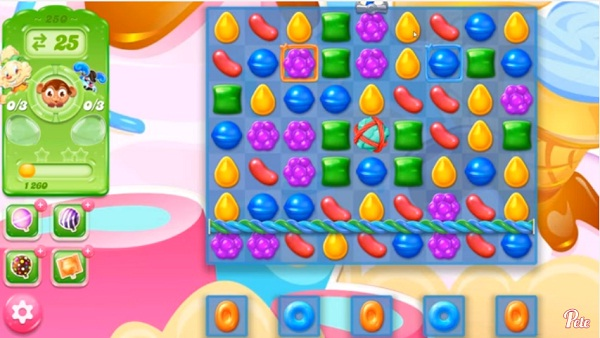 candy crush jelly level 250