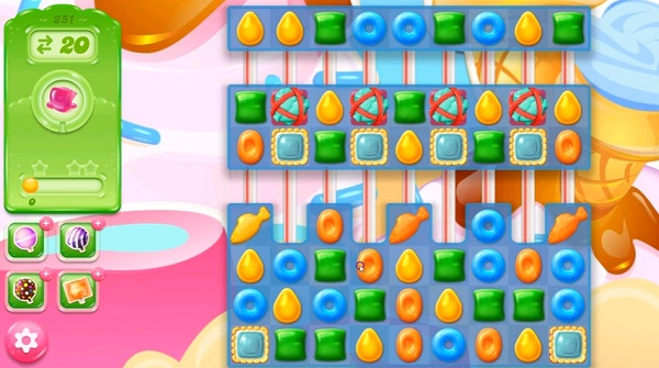candy crush jelly level 251