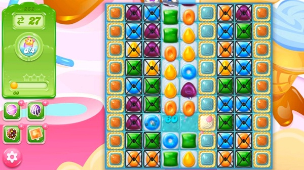 candy crush jelly level 252