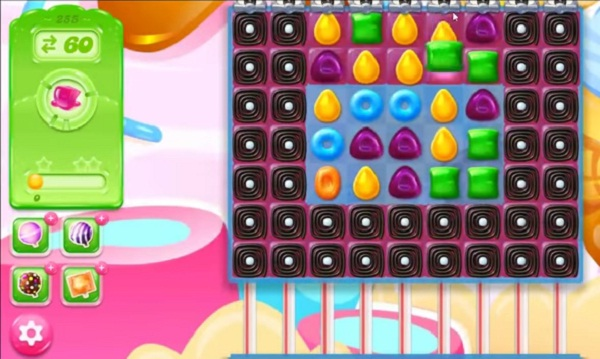 candy crush jelly level 255