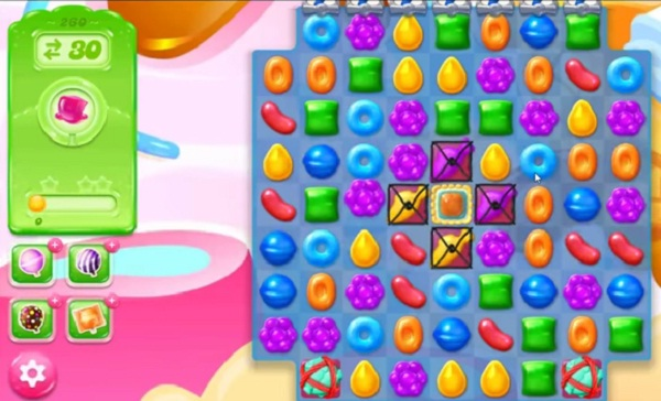 candy crush jelly level 260