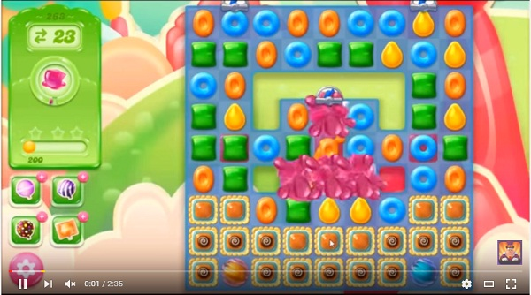 candy crush jelly level 263