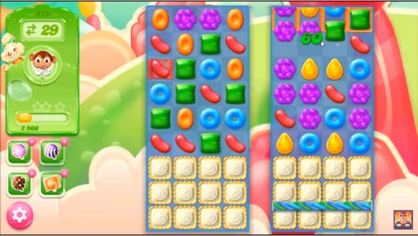 candy crush jelly level 278