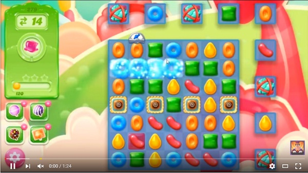 candy crush jelly level 279