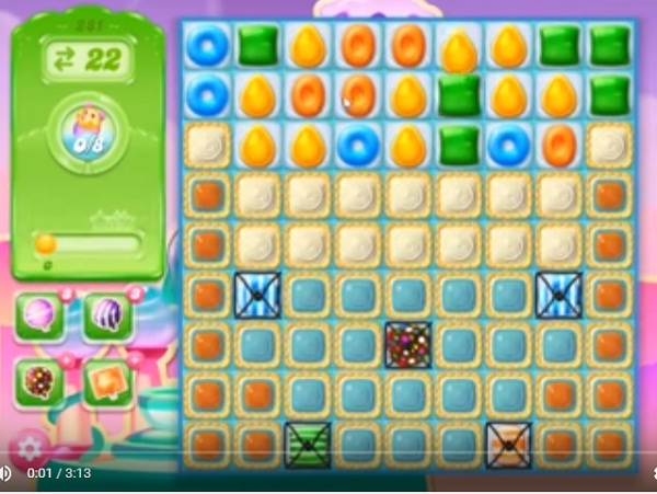 candy crush jelly level 281
