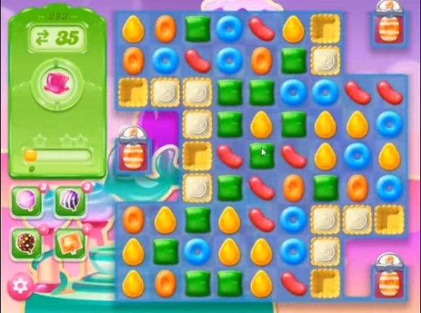 candy crush jelly level 283