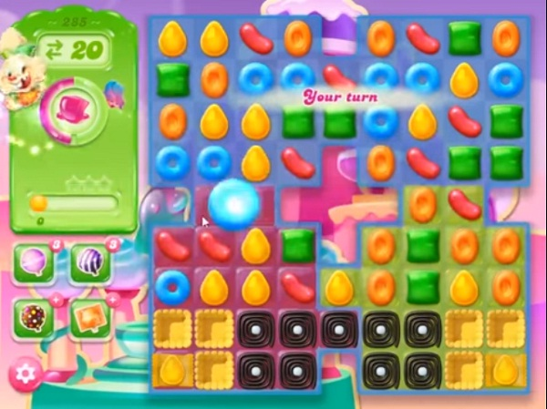 candy crush jelly level 285