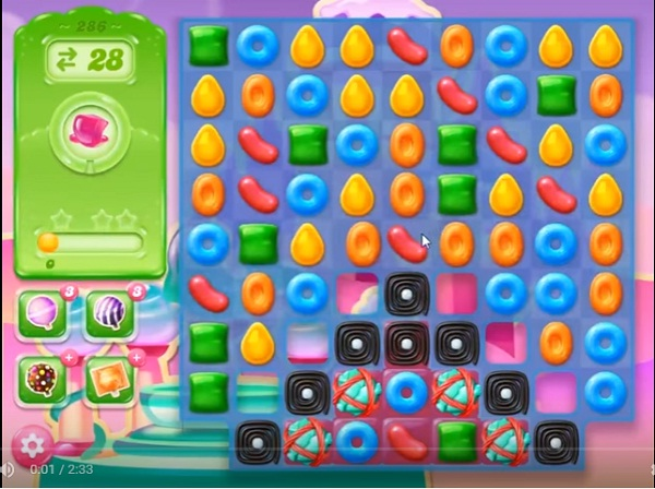 candy crush jelly level 286