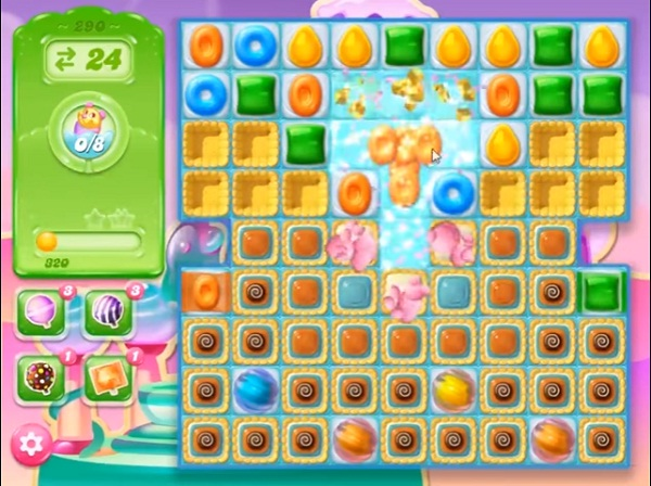 candy crush jelly level 290