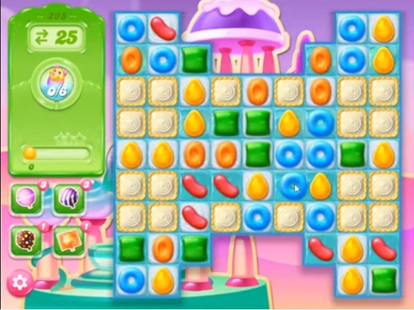 candy crush jelly level 295