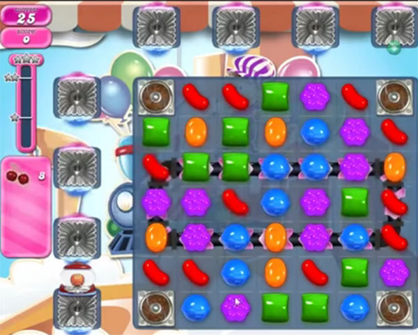 candy crush level 1707