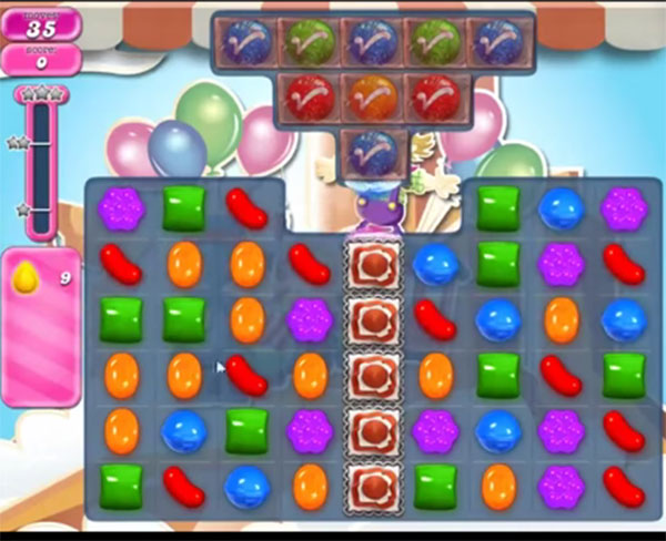candy crush level 1709