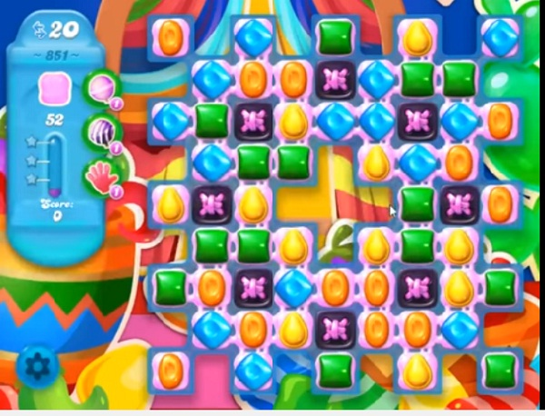 candy crush soda level 851