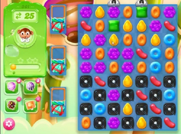 candy crush jelly level 301