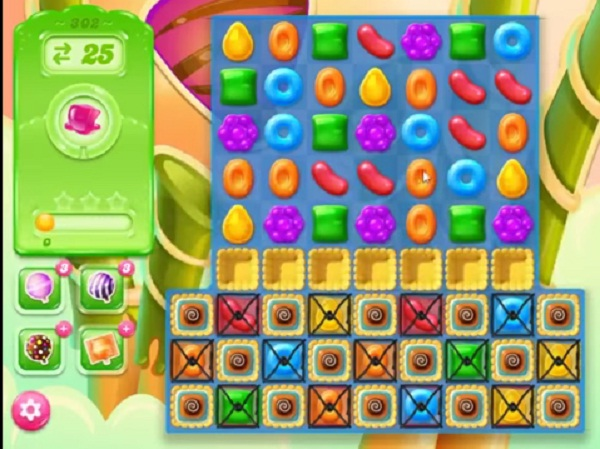 candy crush jelly level 302