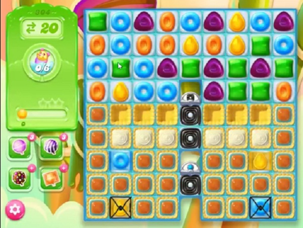 candy crush jelly level 304