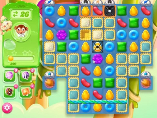 candy crush jelly level 305