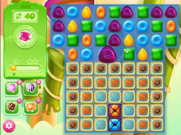 candy crush jelly level 306
