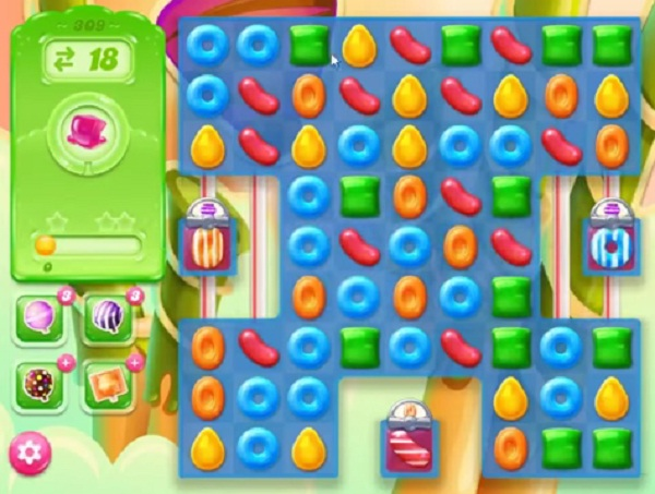 candy crush jelly level 309