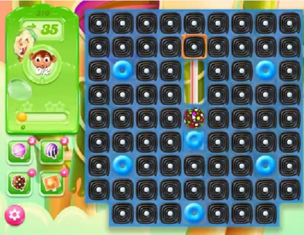 candy crush jelly level 310