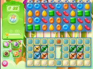 candy crush jelly level 311